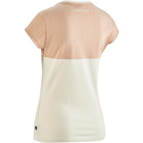 Edelrid Angama T-paita Naiset, peanut